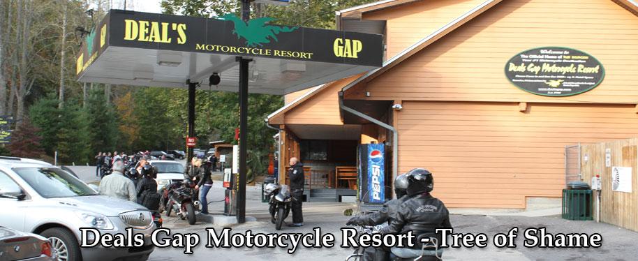 Deals Gap Motorcycle Resort Lodging, Food, Souvenirs