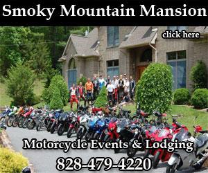 Smoky Mountain Mansion Motorcycle Lodging