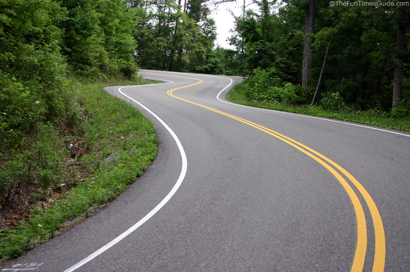Tail of the Dragon Motorcycle Road